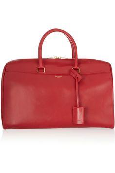 7aa53964508d Saint Laurent - Classic Duffle 12 leather bag