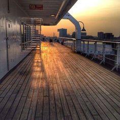 Cruise schip dek