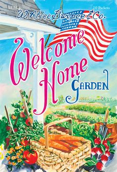 The Welcome Home Garden - a small token for those who have recently returned home from serving our country. Thank you for your service.   Find out more here:  http://www.burpee.com/about/content.jsp?id=welcomehomegardenreport