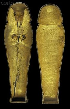 Egyptian canopic coffinette