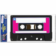 Large Music Cassette Tape Wall Decoration Prop 80's Party Can Be Customized | eBay