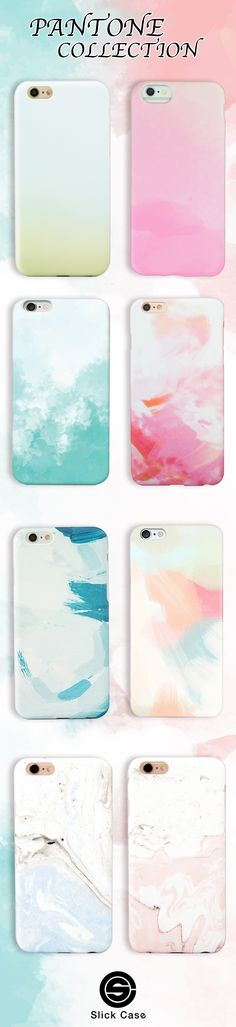 Pantone mist Color iPhone Cases! Click on the link here to check all these Summer-Ready designs out: https://shop.slickcaseofficial.com/collections/iphone-case-collection-hello-summer