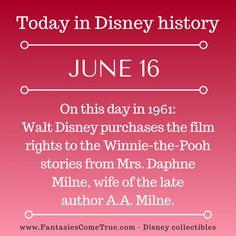 #Disney #DisneyHistory - June 16