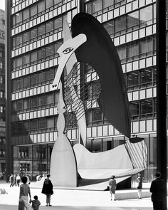 Picasso Sculpture, Chicago Civic Center