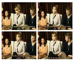 Haha Jen is so sassy...this was like the most awkward interview though xD