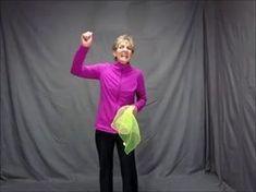 Scarf Activities - Crossing the Midline Movement Activities, Gross Motor Activities, Music Activities, Gross Motor Skills, Brain Activities, Therapy Activities, Physical Activities, Preschool Activities, Sensory Motor