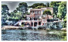 David Niven's house on Cap Ferrat