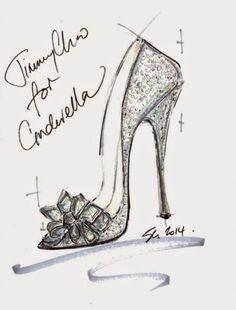 Disney has worked with nine luxury shoe designers to re-imagine Cinderella's glass slipper.