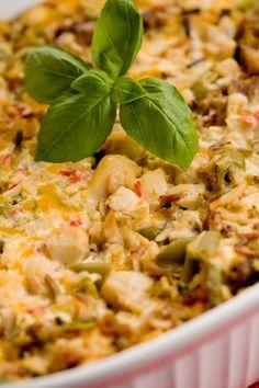 Quick & Easy Meal – Paula Deen's Chicken & Rice Casserole