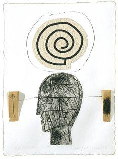 Mimmo Paladino, California Suite No. 7 (2004), via Artsy.net