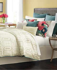 CLOSEOUT! Martha Stewart Collection Ellington 10-Pc. Comforter Sets, Only at Macy's - Bed in a Bag - Bed & Bath - Macy's