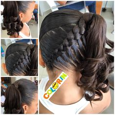 "1,150 Likes, 27 Comments - SANDRA ROJAS (@peinadoscolorin) on Instagram: ""#braid #braids #braidsforgirls #girl #girls #girs #hair #hairdo #hairstyle #trenza #treccia…"""