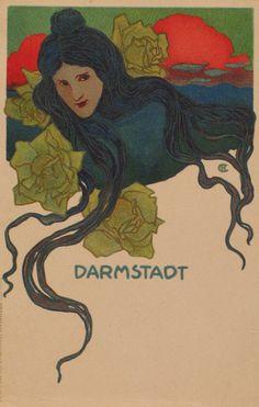 Hans Christiansen / affiche. Kunstanstalt Kornsand & Co., Frankfurt a.M.http://www.museen-sh.de/Objekt/DE-MUS-045414/lido/KV281-b