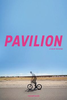 Amazing poster/website design for my husband's film, Pavilion by Version Industries' Caspar Newbolt.