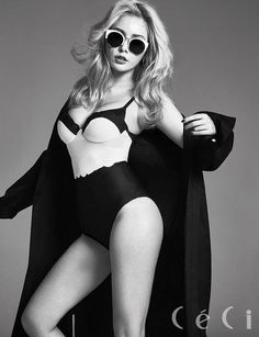 HyunA showed her naturally sexy charisma in the September issue of Ceci. During the interview, HyunA discussed her upcoming comeback and sexy choreography. Hyuna Hyunseung, Hyuna Kim, Hyuna Photoshoot, Photoshoot Fashion, Asian Woman, Asian Girl, Hyuna Fashion, Kpop Fashion, Divas
