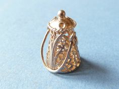 Vintage English 3D  Sterling  Silver charm   of a by undermycharm, $13.00