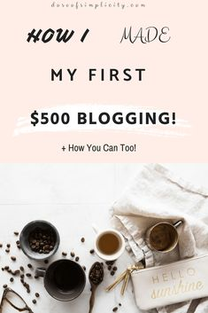 how to make money blogging, work from home, make money online