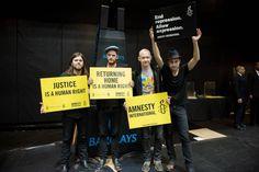 The Fray for Amnesty International