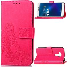 Fashion Case For ASUS 3 Laser ZC551KL Case Wallet Flip Leather Silicone Cases Card Holder Stand Colorful Coque Fundas Case Capa