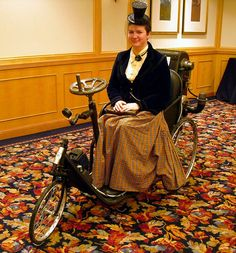 Steam powered tricycle