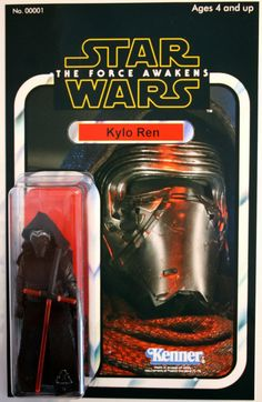 Awesome - Star Wars VII The Force Awakens Kylo Ren Action Figure