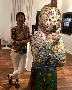 Honfleur, Vera Bradley Backpack, Cool Art, Art Gallery, Sculpture, Artwork, Character, Color, Collection