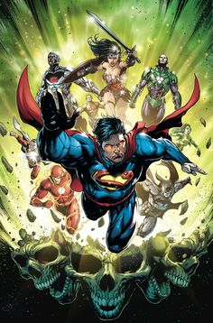 Justice League #39 Cover by Jason Fabok