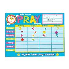 Make-A-Prayer Chart Sticker Scenes - OrientalTrading.com