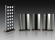 If you had an unlimited amount of money to spend, would you buy any of these extravagantly expensive stereo speakers? There's no harm in a little window-shopping. Hifi Audio, Stereo Speakers, Wireless Speakers, Expensive Houses, Most Expensive, Speaker Box Design, Transmission, High End Audio, Loudspeaker