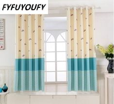 11 color Short curtain half shade Curtains for the Bedroom Fancy Children Modern Curtains for Living Room Kids tulle curtain Drapes And Blinds, Brown Curtains, Short Curtains, Tulle Curtains, Yellow Curtains, Modern Curtains, Modern Blinds, Kids Room Curtains, Bedroom Drapes