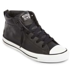 Converse Chuck Taylor All Star Street Sneakers - Unisex Sizing found at   JCPenney Lace Sneakers 1327aadab8
