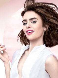 totallylilyjcollins — Lily Collins for Lancôme. Lily Collins, Lilly Collins Makeup, Lilly Collins Hair, Beautiful Celebrities, Beautiful Women, Love Lily, Glamour, Looks Style, Woman Crush