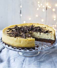 White chocolate and ginger cheesecake by Mary Berry