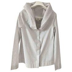 ISA ARFEN WHITE COTTON  TOP. #isaarfen #cloth Isa Arfen, World Of Fashion, White Cotton, Clothes, Shopping, Tops, Women, Style, Outfits