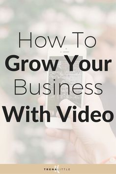 Want to grow your list fast and build your authority in your niche?  Video can accomplish both!  Click on this pin to learn the 3 ways to implement video into your business strategy to grow your business!