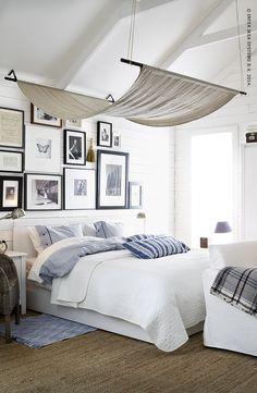 Donnez une touche de douceur supplémentaire à la chambre de vos rêves grâce à ces tissus.