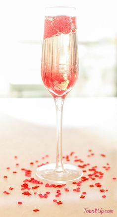 Valentine's Day Cocktails -Tone It Up with your trainers Karena and Katrina, fitness and lifestyle trainers!