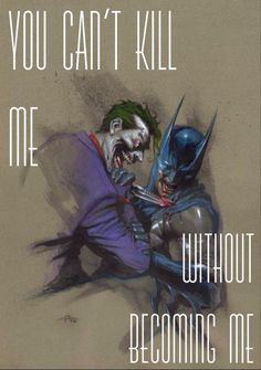 You Can't Kill Me Without Becoming Me.