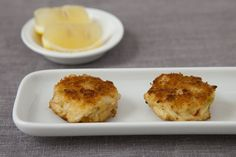 Crab cakes without bread crumbs
