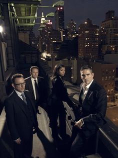Persons of Interest Finch, Fusco, Carter, Reese