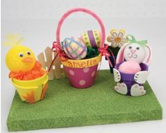 Clay Pot Easter Goodies - tutorial