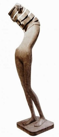 bronze sculpture by Isabel Miramontes - Paris Art Web Sculptures Céramiques, Art Sculpture, Abstract Sculpture, Contemporary Sculpture, Contemporary Art, Art Web, Paris Art, Art Carved, Art Moderne
