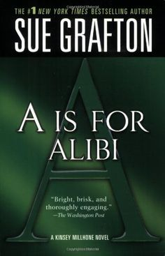 READ: A is for Alibi (Kinsey Millhone Alphabet Mysteries, No. 1) by Sue Grafton. I've been wanting to start this series for years. One down, 25 to go!