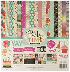 USE -  Echo Park Paper Company Party Time Collection Kit