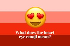 what does the heart eye emoji mean as we are used to seeing it in cartoons this emoji means expressing love to someone it is often meant expressing love - fortnite heart emoji