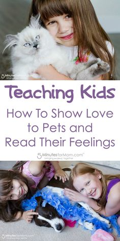 Expert tips on how to show love to your pet and how to read their feelings towards you. These ideas will especially help you teach your kids to show love to their pets while reading their pets feelings and responses. Sponsored.