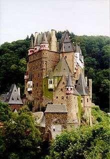 Elz Castle, Rhineland-Palatinate, Germany