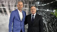 Zinedine Zidane y Su Nueva Etapa de Blanco.