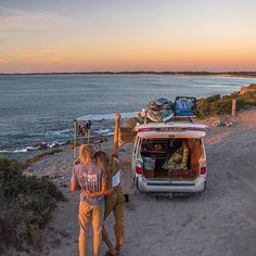 Van Life with Josh & Elise – Salty Aura life diy life diy how to build life diy ideas life diy interiors life diy projects Nissan Quest, Van Living, Teenage Dream, Summer Aesthetic, Cute Couples Goals, Gap Year, Road Trippin, Australia Travel, South Australia