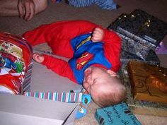Superman costume addict